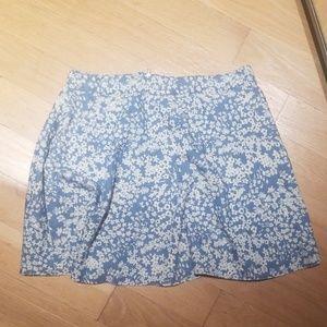 5 for $25 bundle me ! Forever 21 skirt blue large